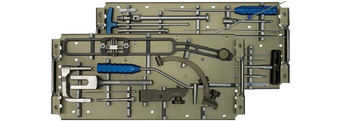 Набори інструментів для постановки стержнів та пластин